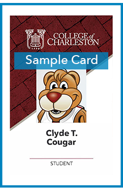 sample of student Cougar Card